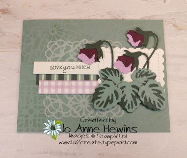 Pansy Patch by Jo Anne Hewins